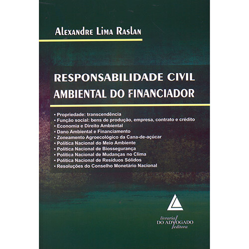 Responsabilidade Civil Ambiental do Financiador