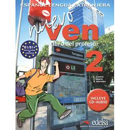 Nuevo Ven: Libro Del Profesor + Cd Clase - Nivel 2