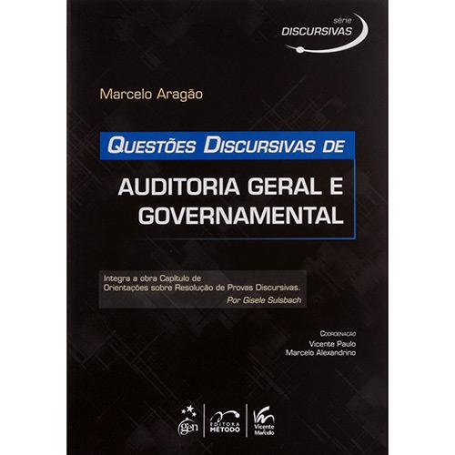 Série Discursivas: Questões Discursivas de Auditoria Geral e Governamenta