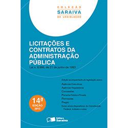 Licitações e Contratos da Administração Pública - Editora Saraiva