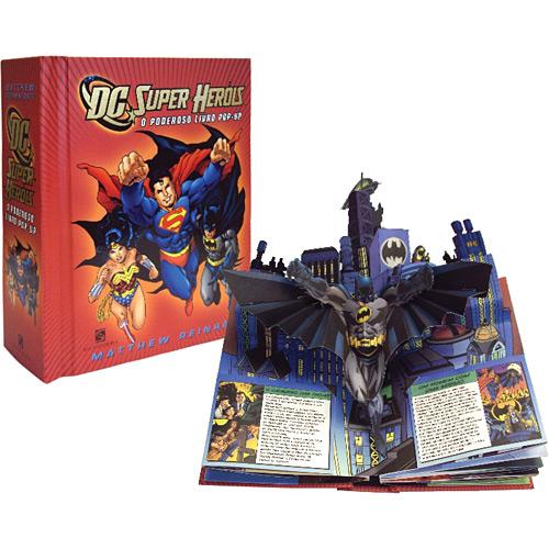 Super-heróis - o Poderoso Livro Pop-up