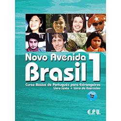 Novo Avenida Brasil 1: Curso Básico de Português para Estrangeiros - Livro + Livro de Exercicios