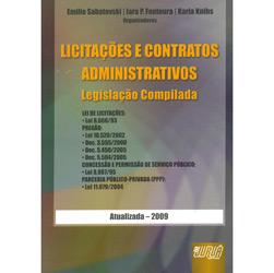 Licitacoes e Contratos Administrativos - Legislacao Compilada