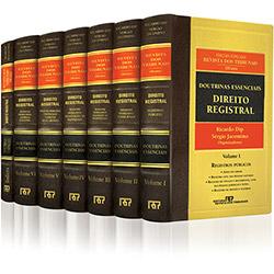 Doutrinas Essenciais: Direito Registral - 7 Volumes - Coleção Completa