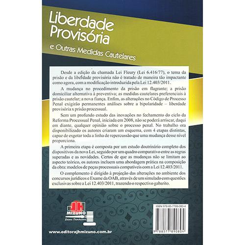 Liberdade Provisória e Outras Medidas Cautelares