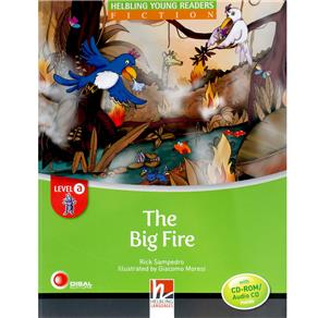 Big Firethe : With Cd-rom - Audio Cd - Level A