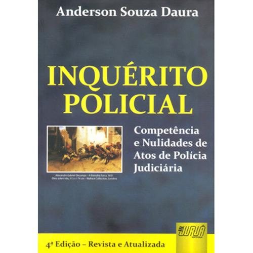 Inquérito Policial - Competência e Nulidades de Atos de Polícia Judiciária
