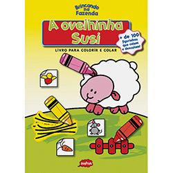 Ovelhinha Susi, a - Livro para Colorir e Colar - Col. Brincando na Fazenda