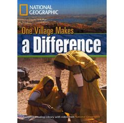 Footprint Reading Library - Level 3 1300 Headwords B1 - One Village Makes a Difference - American En