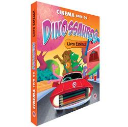 Cinema Com os Dinossauros - Livro Estêncil