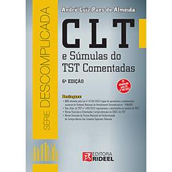 Clt e Súmulas do Tst Comentadas - André Luiz Paes de Almeida