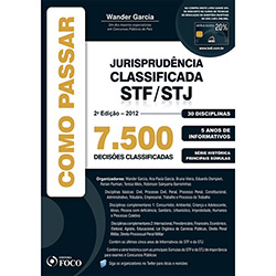 Como Passar Jurisprudência Classificada Stf/stj: 7.500 Quetões Classificadas - 30 Disciplinas