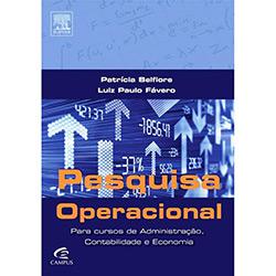 Pesquisa Operacional para Cursos de Administração Contabilidade e Economia