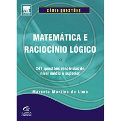 Matematica e Raciocinio Lógico: Questões