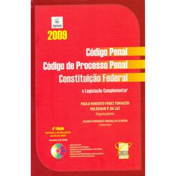 Codigo Penal, Codigo de Processo Penal, Constituição Federal
