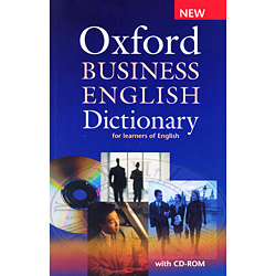 Oxford Business English Dictionary W Cdrom Pack
