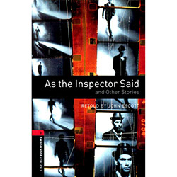 As The Inspector Said: And Other Stories With Cd - Level 3