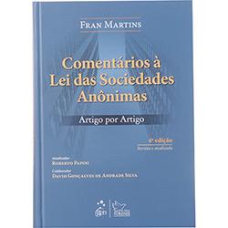 Comentários à Lei das Sociedades Anônimas - Artigo por Artigo
