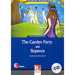 Garden Party And Sixpence, The With Cd ( Pre-intermediate )