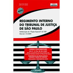 Regime Interno do Tribubnal de Justica de Sao Paulo - Col. Legislacao