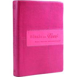 Bíblia da Vovó Nvi - Cereja e Rosa