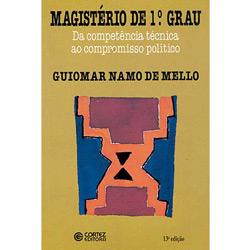 Magisterio de 1º Grau da Competencia Tecnica ao Compromisso Politico