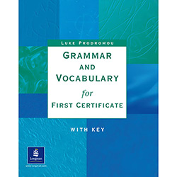 Grammar Vocabulary For First Cert With Key
