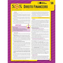 Sínteses Organizadas Saraiva Direito Financeiro -vol. 59 - Col. Sos