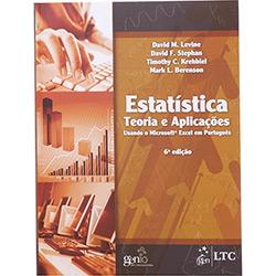Estatística: Teoria e Aplicações Usando o Microsoft Excel em Português