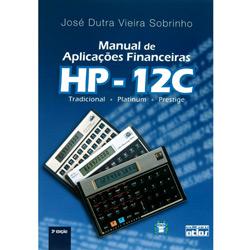 Manual de Aplicações Financeiras Hp-12c