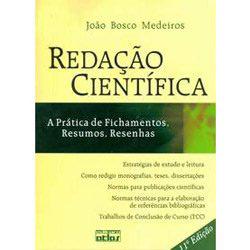 Redação Científica: a Prática de Fichamentos, Resumos, Resenhas