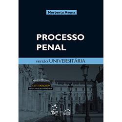 Processo Penal: Versão Universitária