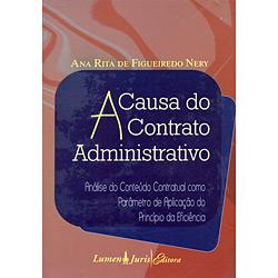 Causa do Contrato Administrativo, A