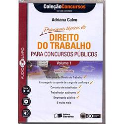 Audiolivro: Direito do Trabalho para Concursos Publicos - Vol.1