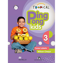 Tropical Ping Pong Kids 3 - Students Pack With Audio Cd (2010 - Edição 1)