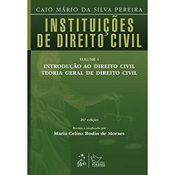 Instituições de Direito Civil - Vol.1