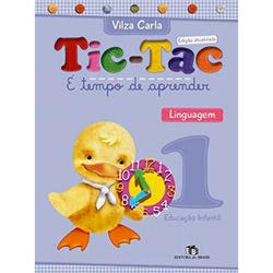 Tic-tac: É Tempo de Aprender - Linguagem 1