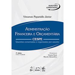 Administraçao Financeira e Orçamentaria: Cespe (2013 - Edição 3)