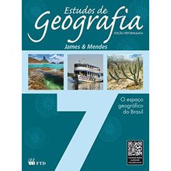 Estudos de Geografia: o Espaço Geográfico do Brasil - 7 Ano / 6 Série