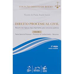 Direito Processual Civil - Vol. 1 - Coleção Direito de Bolso