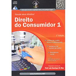 Direito do Consumidor 1 - Autor: Luiz Henrique M. Dias - Cd de Audiolivro