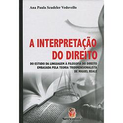 Interpretação do Direito, A: do Estudo da Linguagem à Filosofia do Direito