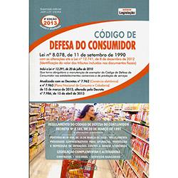 Código de Defesa do Consumidor (2013 - Edição 9)