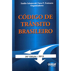 Código de Trânsito Brasileiro: Lei 9.503/97 - Mini Book