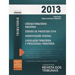 Rt Mini Código 2013: Código Tributário Nacional, Código de Processo Civil, Contituição Federal