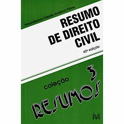 Resumo de Direito Civil - Vol.3 - Coleção Resumos