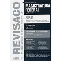 Revisaço: Magistratura Federal Juiz Federal 559 Questões Comentadas