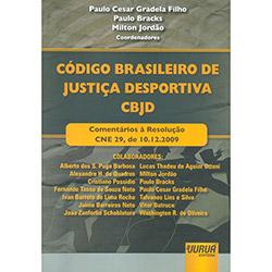 Codigo Brasileiro de Justiça Desportiva Cbjd