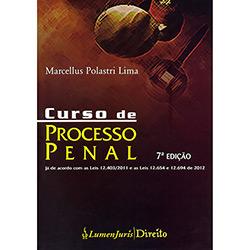 Curso de Processo Penal - 7ª Ed. (2013 - Edição 1)