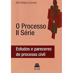 Processo Ii Série, O: Estudos e Pareceres de Processo Civil